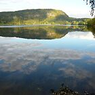Semsvann Lake by Jenny Taylor