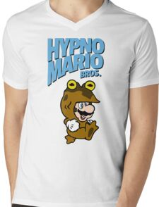 HypnoMario Bros Mens V-Neck T-Shirt
