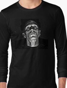 Portrait in Black and White. Long Sleeve T-Shirt