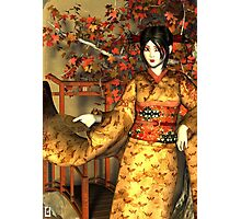 Asian Autumn Photographic Print