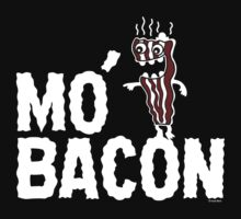 MO' BACON on darks Kids Tee