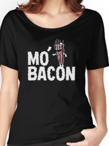 MO' BACON on darks Women's Relaxed Fit T-Shirt