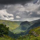 View from Castle Crag - Cumbria by Ian Snowdon /     www.downtoearthimages.co.uk