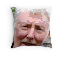 Painful Expression Throw Pillow