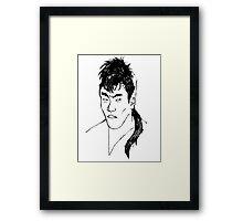 Hiroshi Framed Print