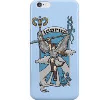 Icarus Nouveau iPhone Case/Skin