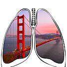 Lungs - Golden Gate Bridge by riskeybr