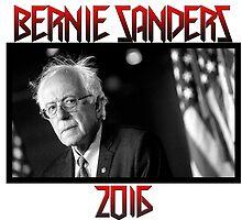 Metal Bernie Sanders 2016 by sorryforlaughin