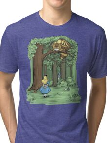 My Neighbor in Wonderland Tri-blend T-Shirt