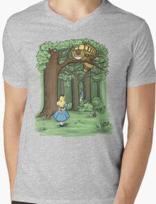My Neighbor in Wonderland Mens V-Neck T-Shirt