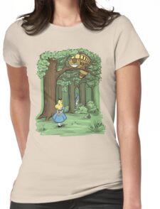 My Neighbor in Wonderland Womens Fitted T-Shirt