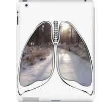 Lungs - Frozen Creek iPad Case/Skin