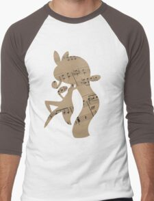 Meloetta used sing Men's Baseball ¾ T-Shirt