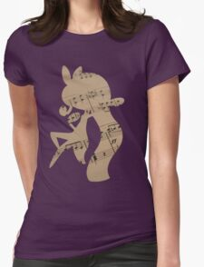 Meloetta used sing Womens Fitted T-Shirt