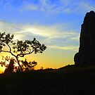 Dawn - Santiago, Bolivia by Jason Weigner