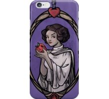 Snow Organa and the Poisoned Death Star iPhone Case/Skin