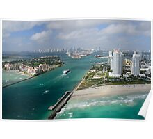 Approaching Miami Poster