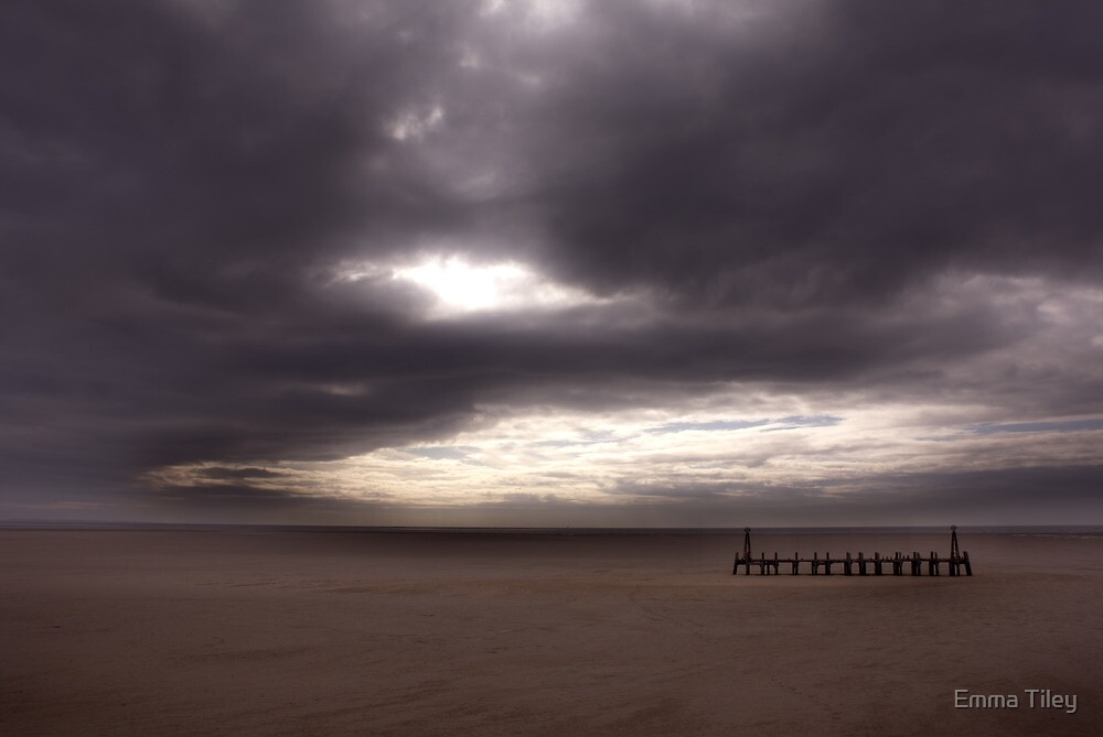 St Anne's Pier, Lytham by Emma Tiley