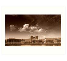 Belfast Harbour Art Print