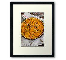 Apricot Tart Framed Print