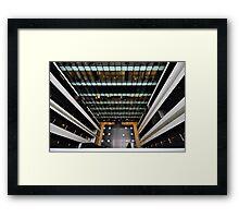 Looking down Framed Print