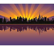 Manhattan Skyline Photographic Print