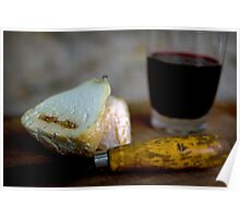 Cheese and Wine Poster
