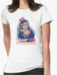 Uncle Dean wants YOU Womens Fitted T-Shirt