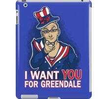 Uncle Dean wants YOU iPad Case/Skin