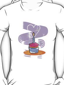 Happy Birthday Cupcake T-Shirt