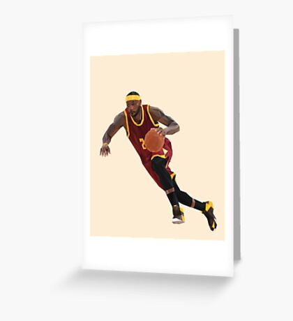LeBron Greeting Card