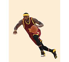 LeBron Photographic Print