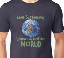 Live Sustainably Unisex T-Shirt