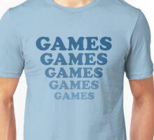 'Games' tee from Adventureland Unisex T-Shirt