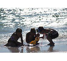 Summertime Fun at the Beach Photographic Print