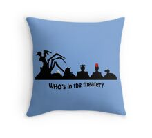 Arachnophobia Throw Pillow