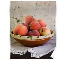 Sun Kissed Peaches Poster