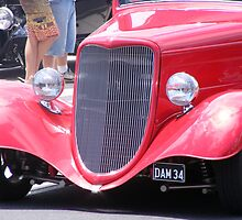 Vintage Car show - Yamba - NSW by Sandy MacLean