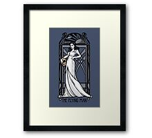 The Flying Man Framed Print