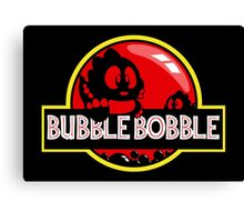 Bubble Bobble Park Canvas Print