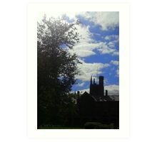 Queen's University Belfast quadrangle Art Print