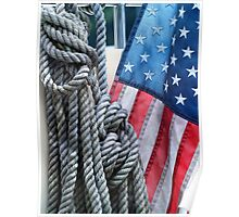 Nautical Rope 4 Poster