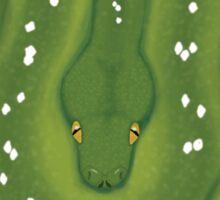 Green Tree Python Design Sticker