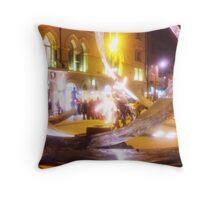 Belfast street performers, Arthur Square Throw Pillow