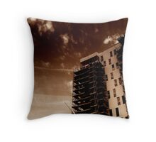 Titanic Quarter Apartments construction, Belfast Throw Pillow