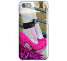 Ghostly Pink Pumps iPhone Case/Skin