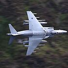 Low flying Harrier cad west by Keith Trivett