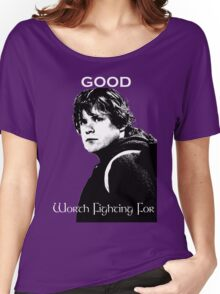 Samwise Gamgee - A Good Worth Fighting For Women's Relaxed Fit T-Shirt