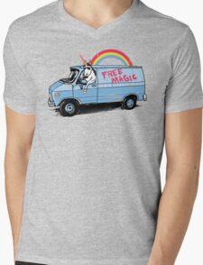 Unicreep Mens V-Neck T-Shirt