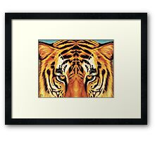 Looking Right Through You Framed Print